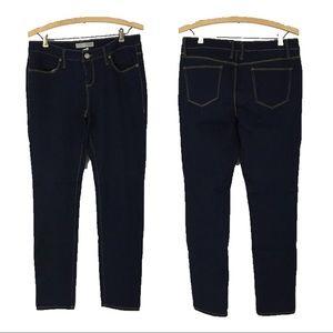 No Boundaries Jeans Dark Rinse Blue Denim Stretch